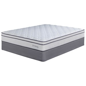 Sierra Sleep Longs Peak Limited Queen Plush Mattress Set