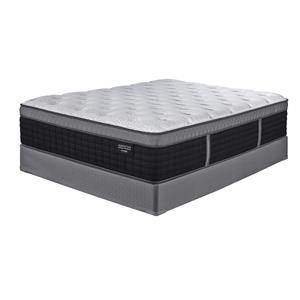 Sierra Sleep Manhattan Design King Firm Hybrid Mattress