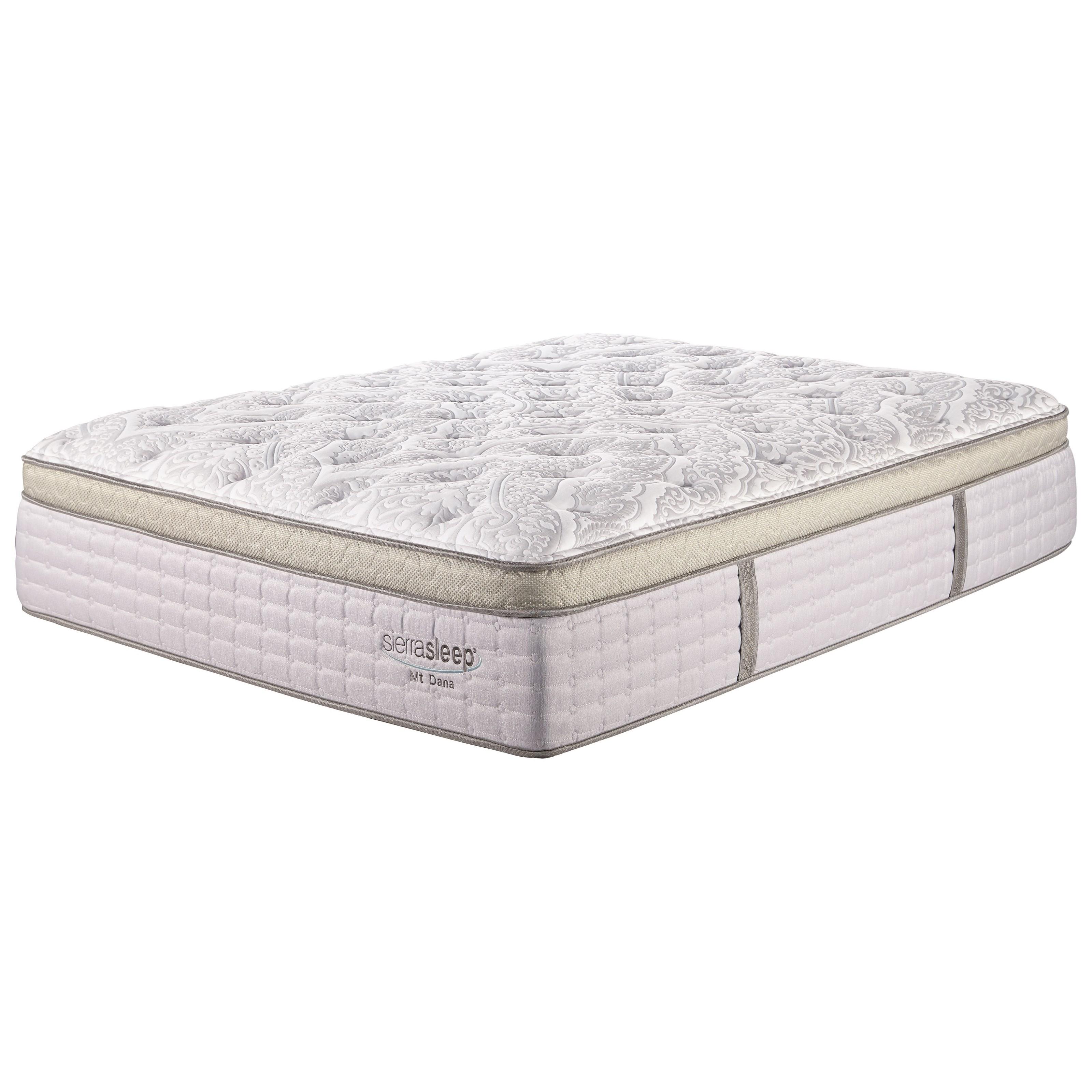Sierra Sleep Mount Dana Full Euro Top Mattress - Item Number: M95821