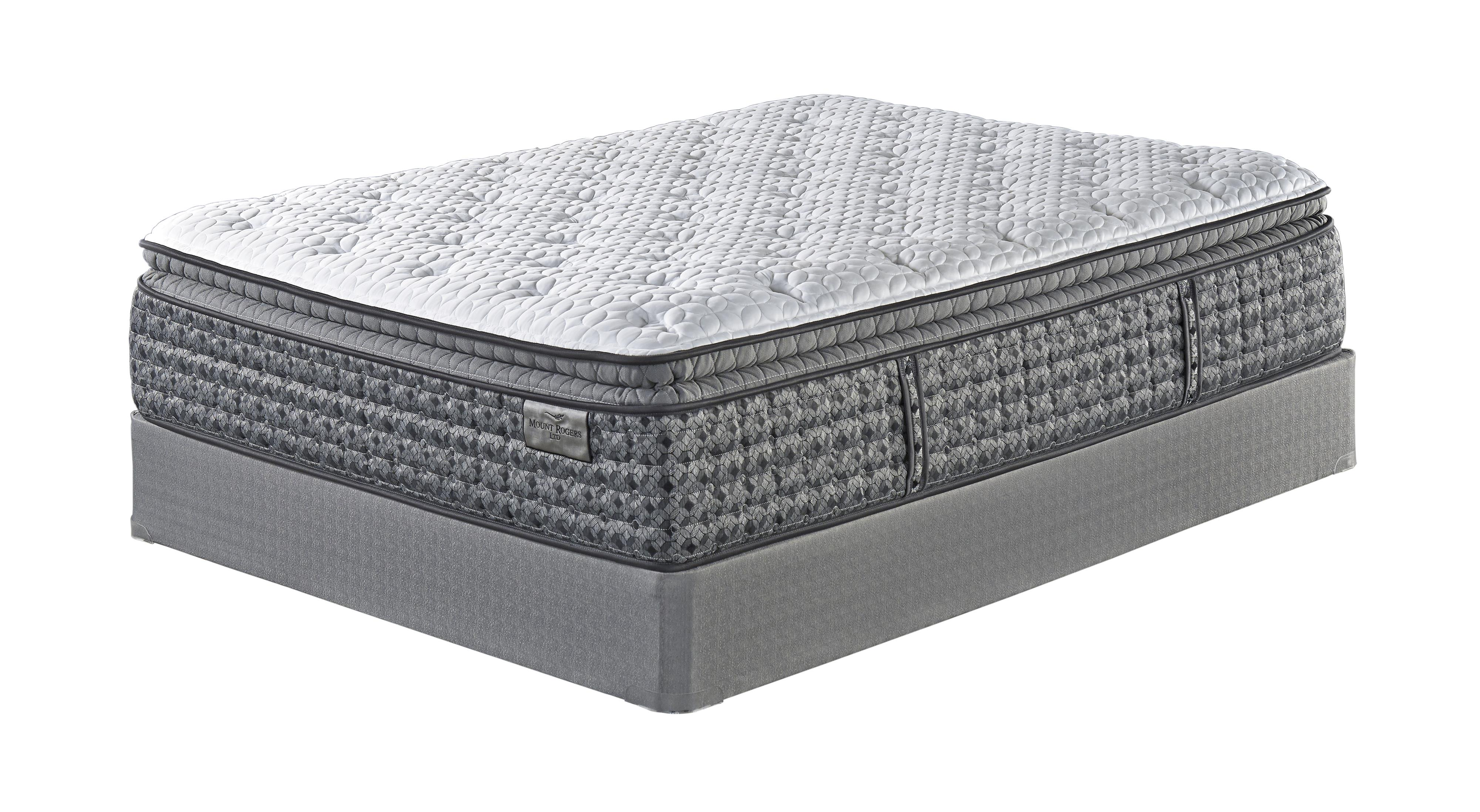 Sierra Sleep Mount Rogers Ltd Queen Pillow Top Mattress and Adj Base - Item Number: M90531+BetterAdj-Q