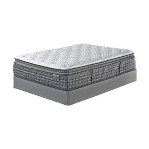 Sierra Sleep Mount Rogers Ltd King Pillow Top Matt and Adj Base