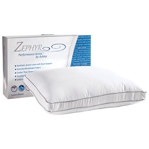 Sierra Sleep Zephyr Preserve Pillow Synthetic Down and Synthetic Latex Pillow