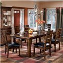 Signature Design by Ashley Larchmont 7Pc Dining Room - Item Number: D442-45-6-01