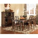 Signature Design by Ashley Porter 8Pc Dining Room - Item Number: D697S-8PC