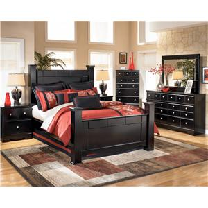 Signature Design by Ashley Shay 4pc queen bedroom
