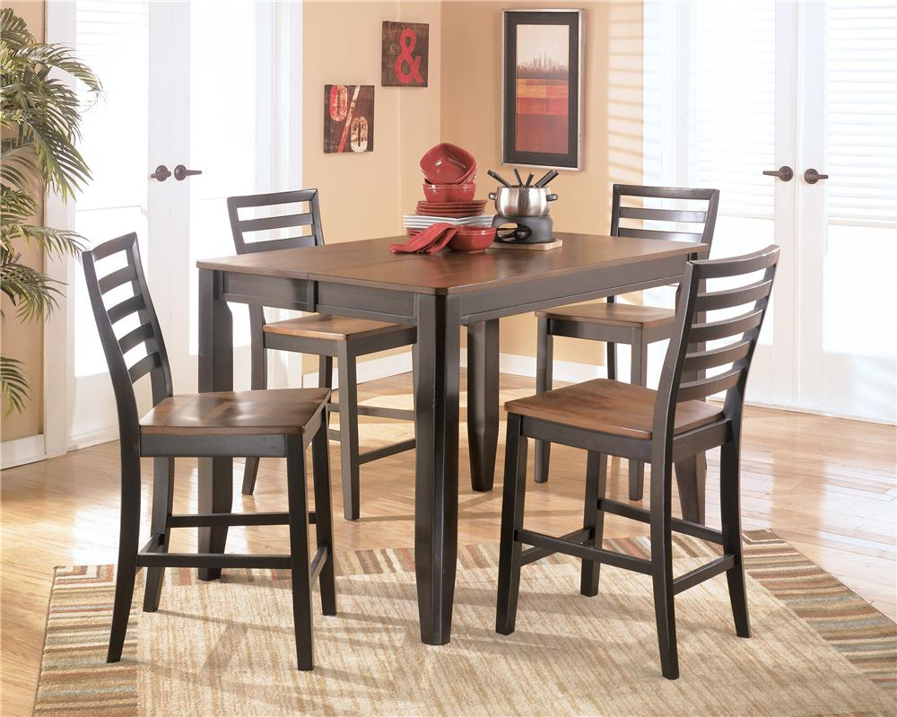 Counter Height Butterfly Leaf Table