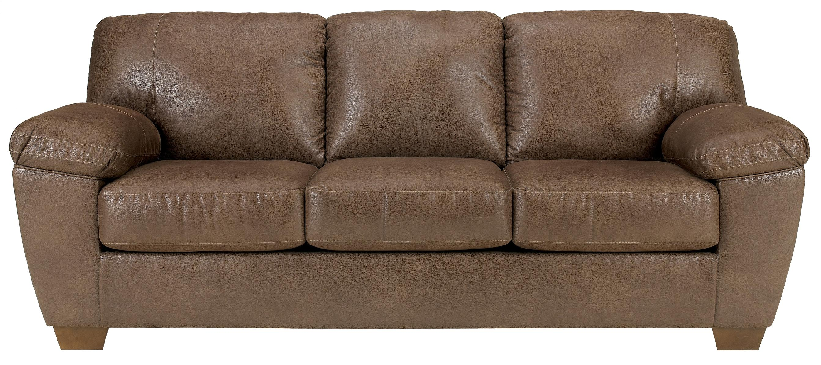 Signature Design by Ashley Amazon - Walnut Sofa - Item Number: 6750538