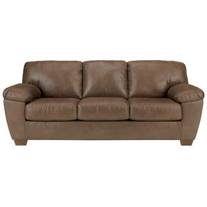 Signature Design by Ashley Amazon - Walnut Sofa