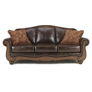 Signature Design by Ashley Furniture Barcelona - Antique Sofa