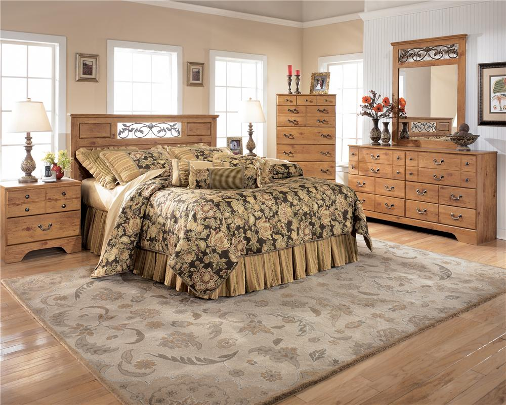 Signature Design by Ashley Bittersweet Full/Queen 4pc Bedroom - Item Number: ASHB219_AKIT