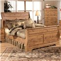 Signature Design by Ashley Bittersweet Queen Sleigh Bed - Item Number: B219-65+63+86