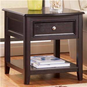 Signature Design by Ashley Carlyle Rectangular End Table