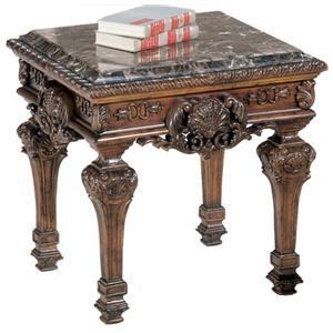 Signature Design by Ashley Casa Mollino Square End Table