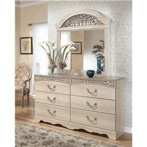 Signature Design by Ashley Catalina Dresser with Mirror