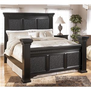 Signature Design by Ashley Cavallino King Mansion Bed