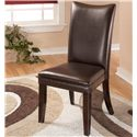 Signature Design by Ashley Charrell Brown Side Chair - Item Number: D357-01