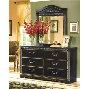 Signature Design by Ashley Coal Creek Dresser & Mirror
