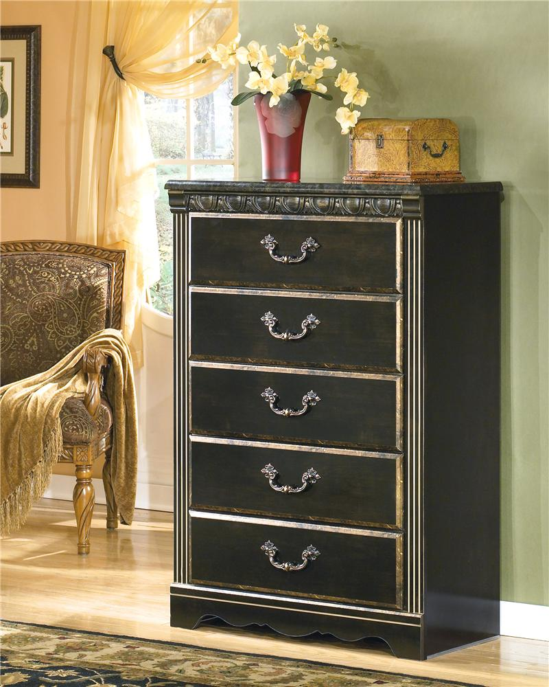 Signature Design by Ashley Coal Creek Chest - Item Number: B175-46