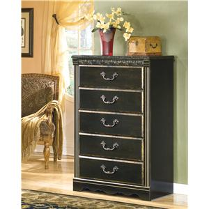 Signature Design by Ashley Furniture Coal Creek Chest