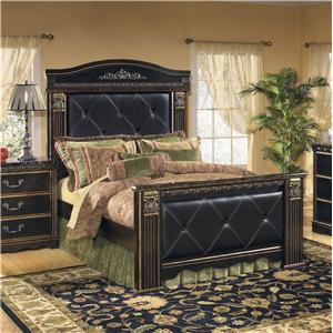 Signature Design by Ashley Coal Creek Queen Mansion Bed