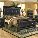 Signature Design by Ashley Coal Creek Upholstered King Mansion Bed