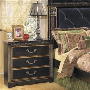 Signature Design by Ashley Furniture Coal Creek 3 Drawer Night Stand