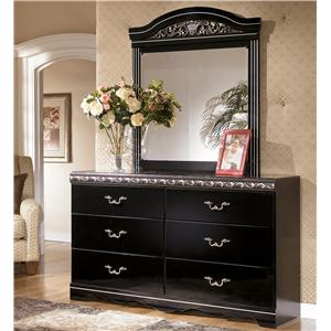 Signature Design by Ashley Constellations Dresser & Mirror Combo