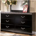 Signature Design by Ashley Constellations Bedroom Dresser - Item Number: B104-31