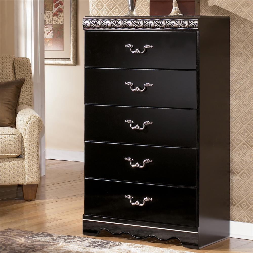 Signature Design by Ashley Constellations Chest of Drawers - Item Number: B104-46