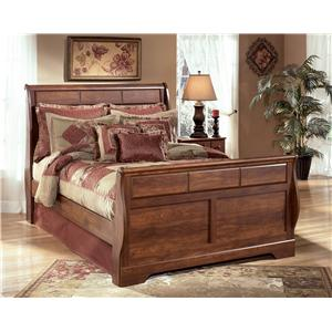 Ashley Signature Design Timberline Queen Sleigh Bed