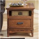 Signature Design by Ashley Block Island Rectangular End Table - Item Number: T719-3