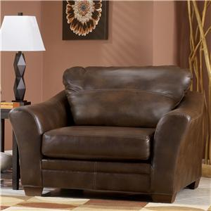 Signature Design by Ashley Furniture Del Rio DuraBlend - Sedona Chair and a Half