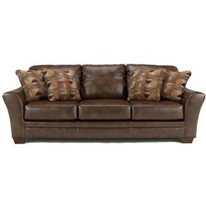Signature Design by Ashley Furniture Del Rio DuraBlend - Sedona Stationary Sofa