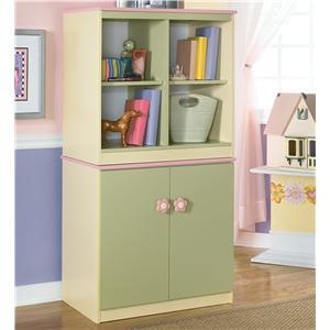 Signature Design By Ashley Doll House Loft Bin U0026 Door Storage