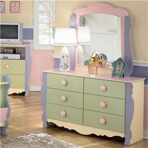 Signature Design By Ashley Doll House Dresser U0026 Mirror