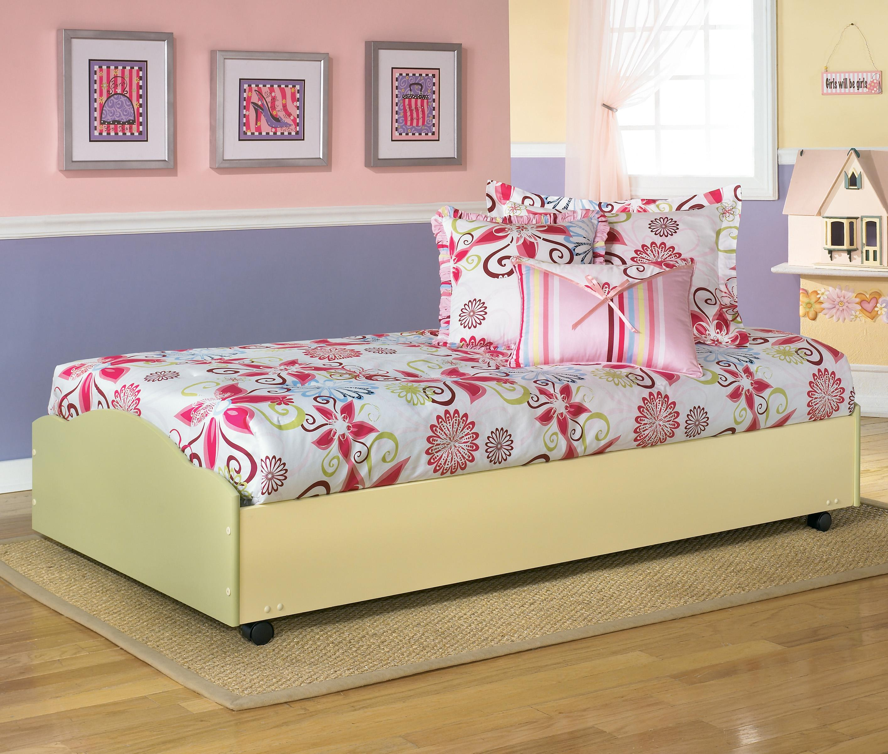 Signature Design by Ashley Doll House Twin Lo-Loft Lower Bed w ...
