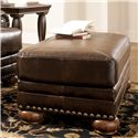 Signature Design by Ashley Chaling DuraBlend® - Antique Ottoman - Item Number: 9920014