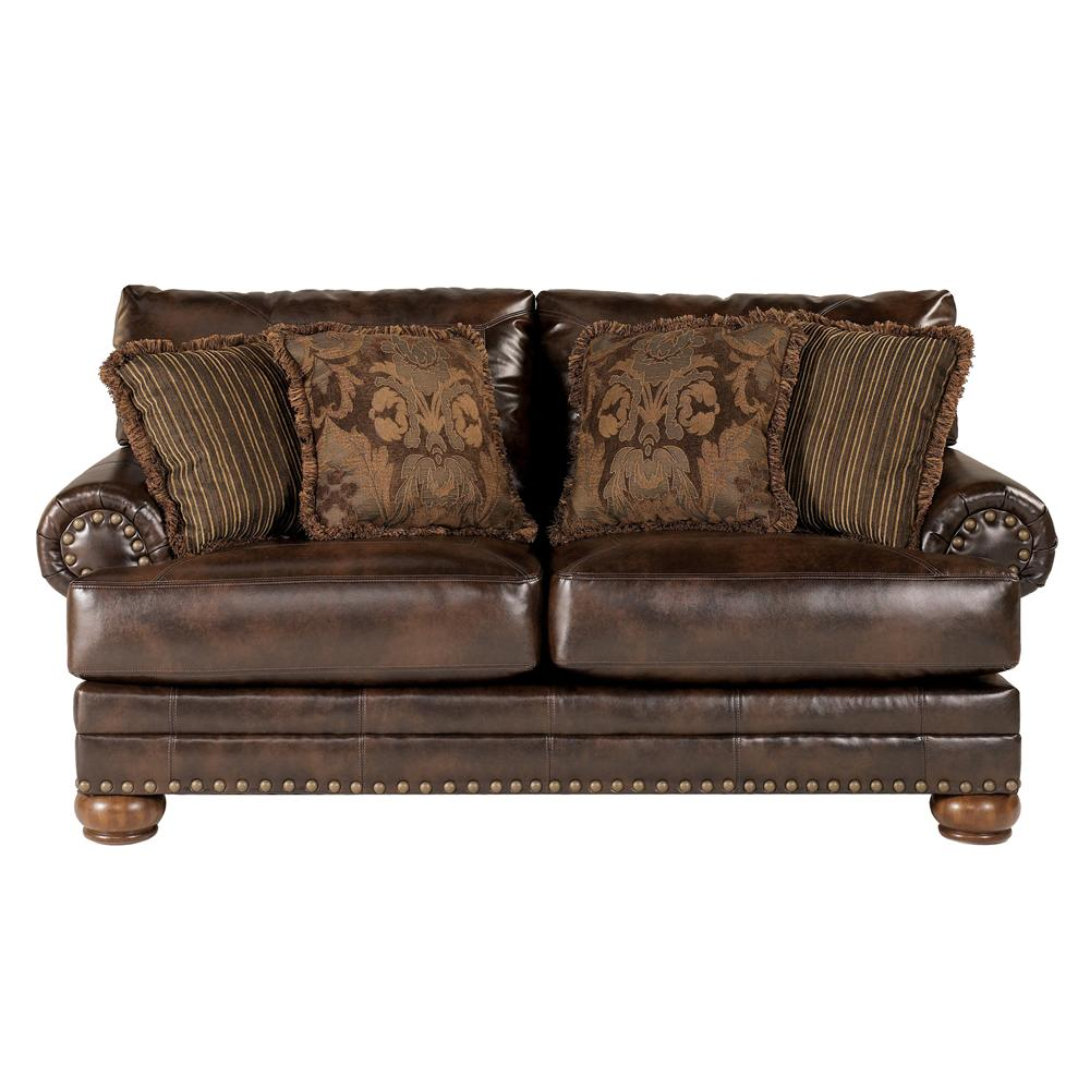 Signature Design by Ashley Chaling DuraBlend® - Antique Loveseat - Item Number: 9920035
