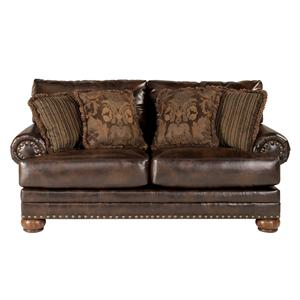 Signature Design by Ashley Chaling DuraBlend® - Antique Loveseat