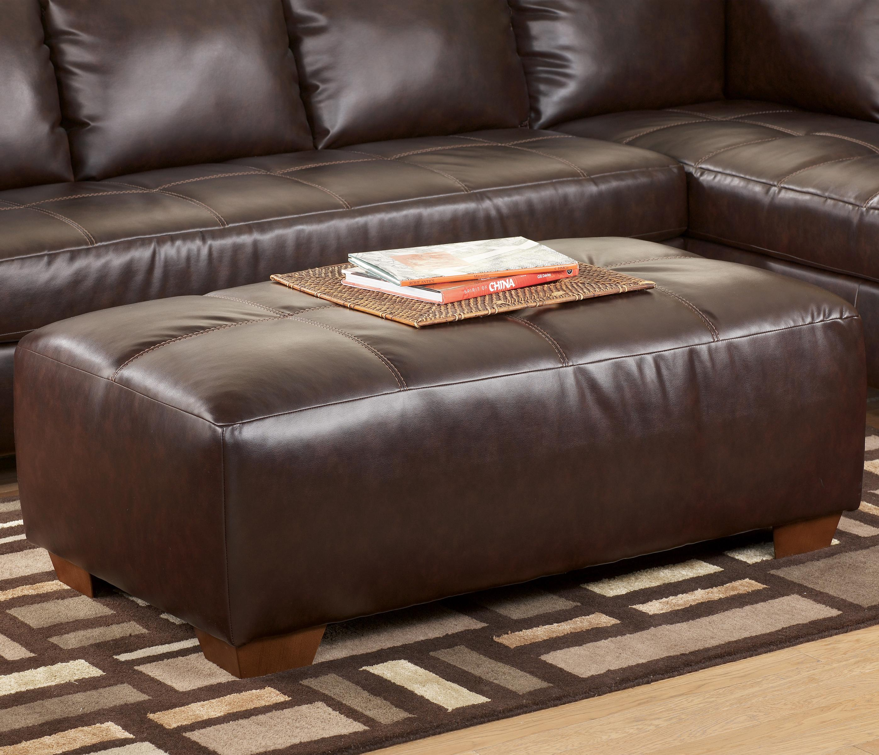 Signature Design by Ashley Fairplay DuraBlend® Oversized Accent Ottoman - Item Number: 4480008