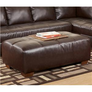 Signature Design by Ashley Fairplay DuraBlend® Oversized Accent Ottoman