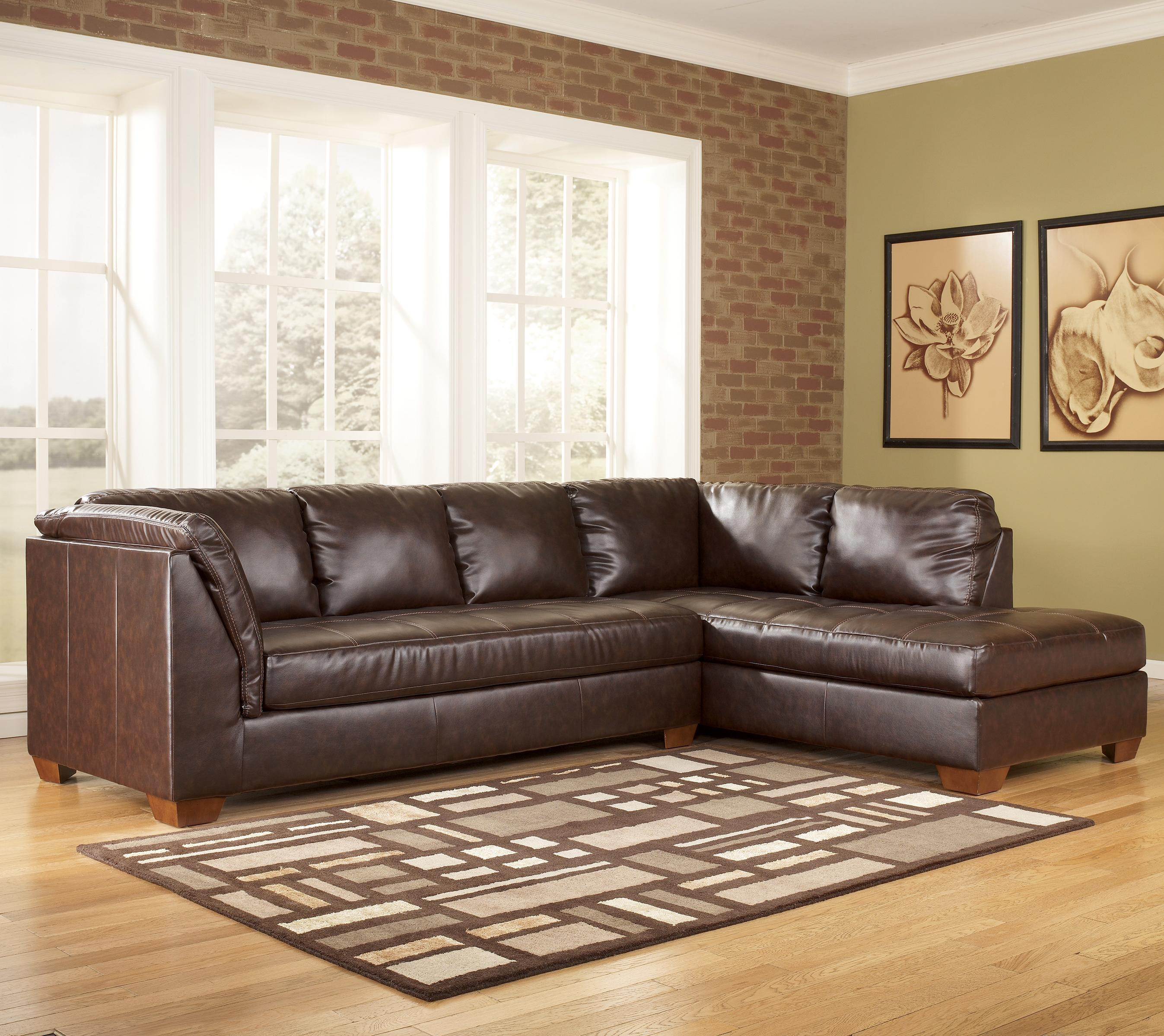 Signature Design by Ashley Fairplay DuraBlend® 2 Piece Sectional Group - Item Number: 448017+66