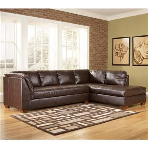 Signature Design by Ashley Fairplay DuraBlend® 2 Piece Sectional Group