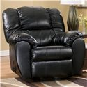 Signature Design by Ashley Dylan DuraBlend - Onyx Rocker Recliner - Item Number: 7060425