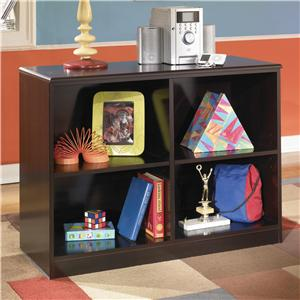 Signature Design by Ashley Embrace Loft Open Bookcase