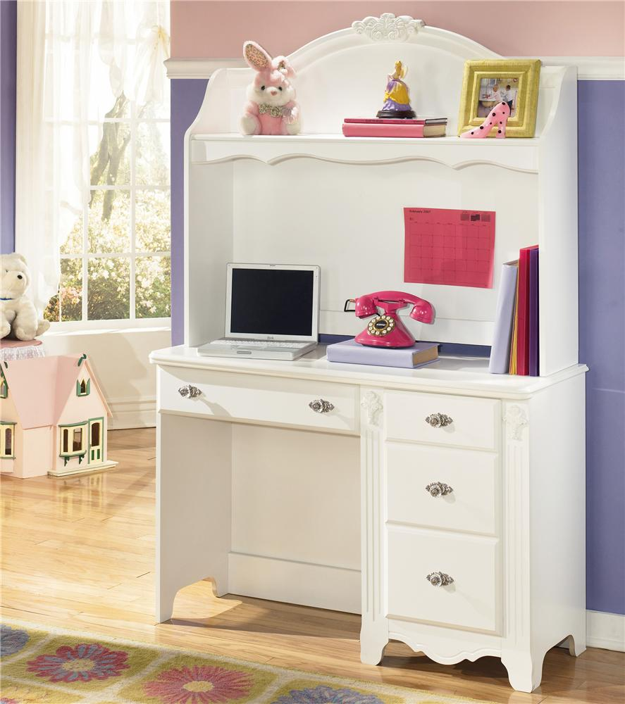 Signature Design by Ashley Exquisite Desk and Hutch - Item Number: B188-22+23