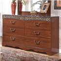 Signature Design by Ashley Fairbrooks Estate Dresser - Item Number: B105-31