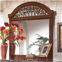 Signature Design by Ashley Fairbrooks Estate Mirror - Item Number: B105-36
