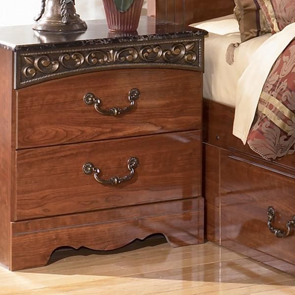 Signature Design by Ashley Fairbrooks Estate Night Stand - Item Number: B105-92