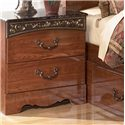 Signature Design by Ashley Brookfield Night Stand - Item Number: B105-92